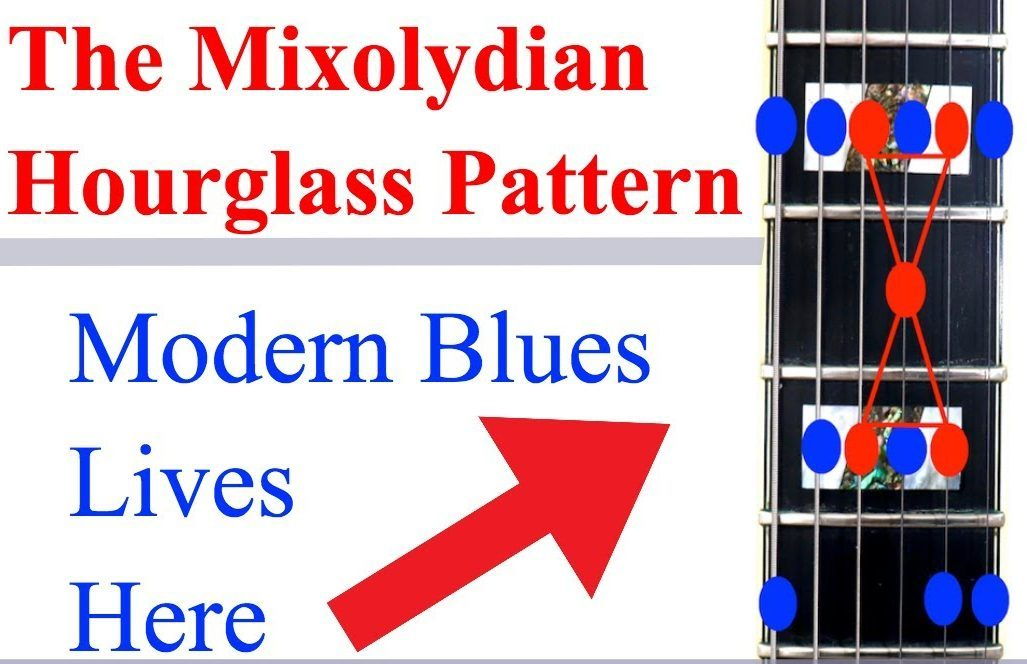 the mixolydian hourglass pattern