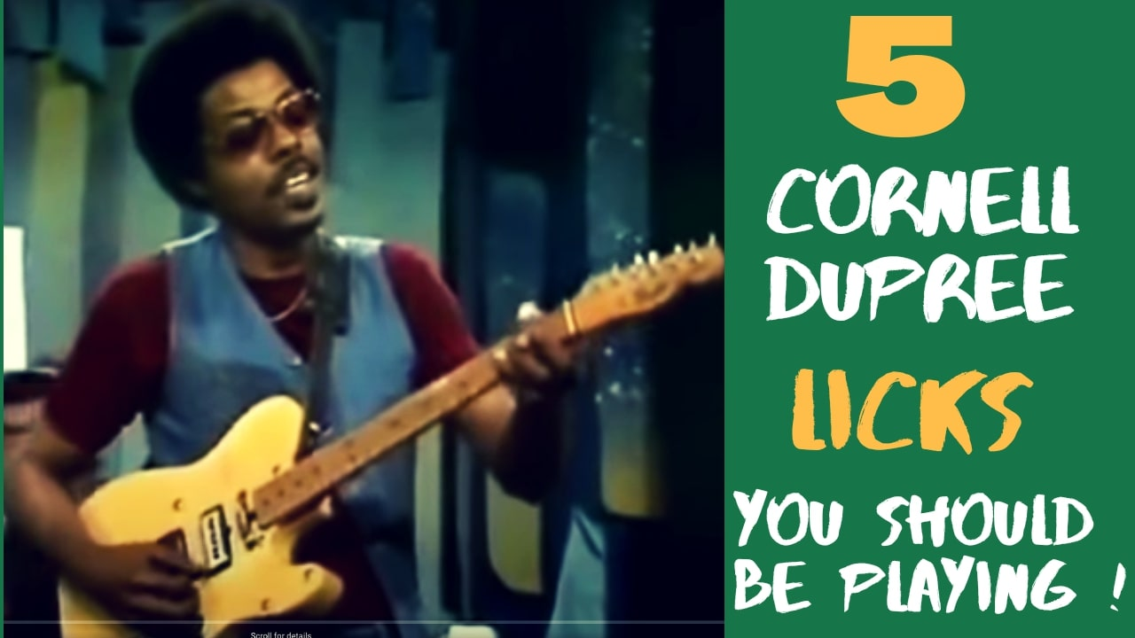 5 cornell dupree licks you should be playing