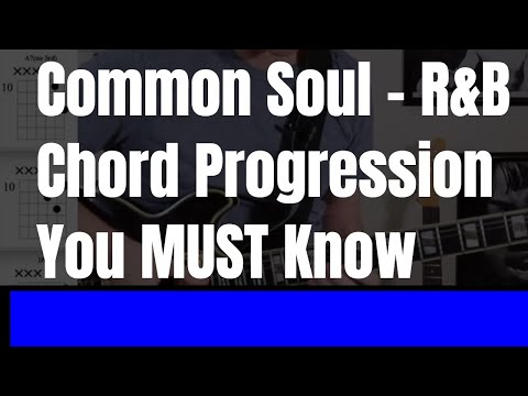 Common sould - R&B chord progression you must know