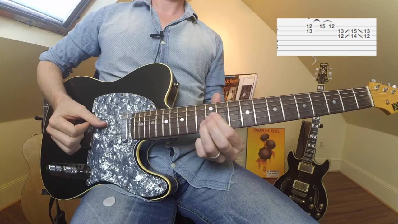 funk guitar lessons and courses
