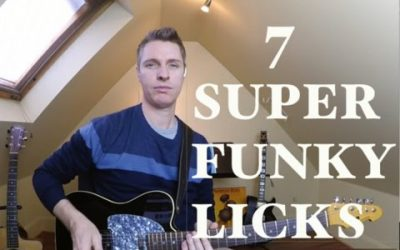 7 Super Funky Licks You Should Be Playing